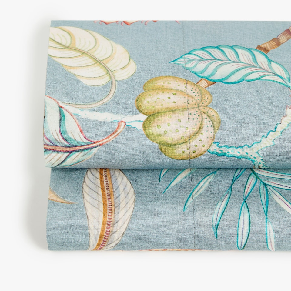 BRANCHES AND FLOWERS FLAT SHEET