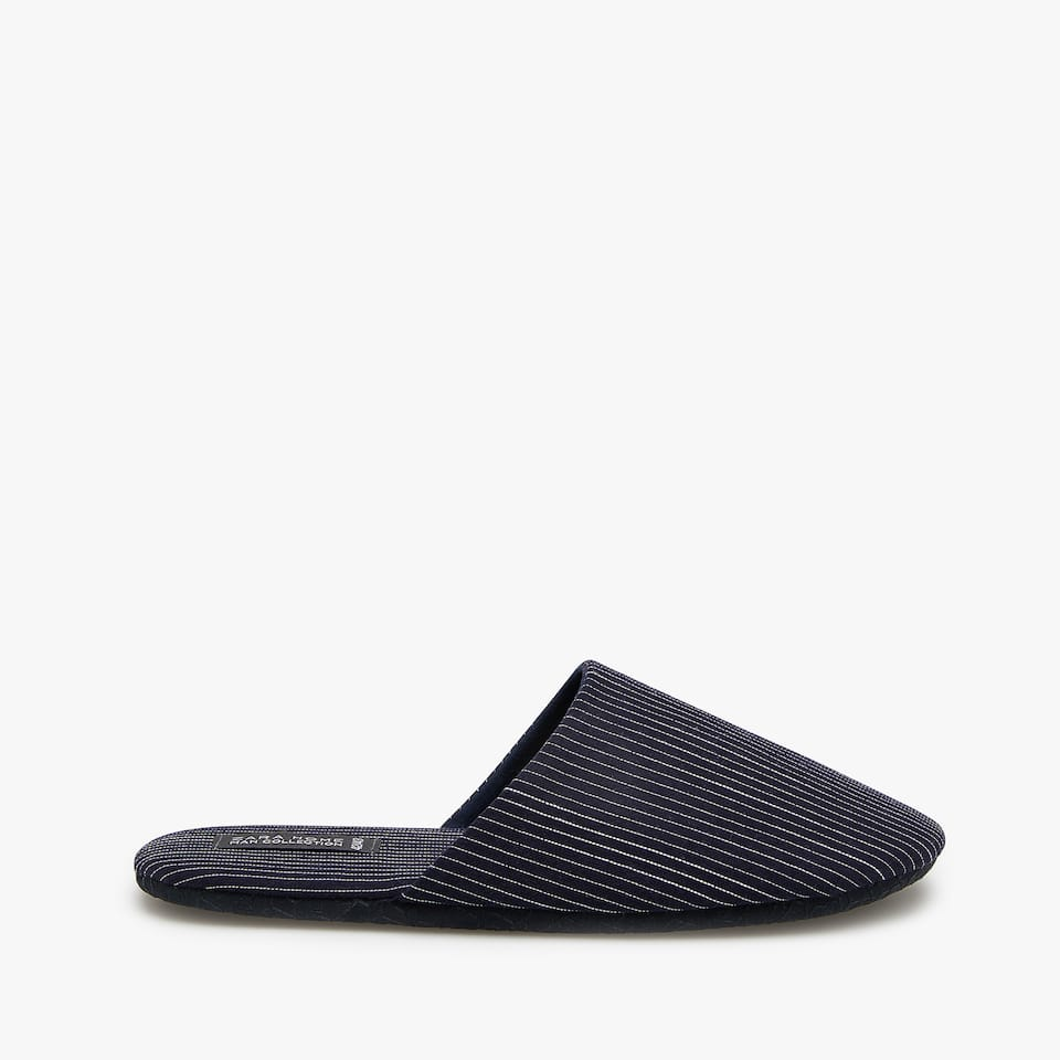 GESTREEPTE SLIPPER