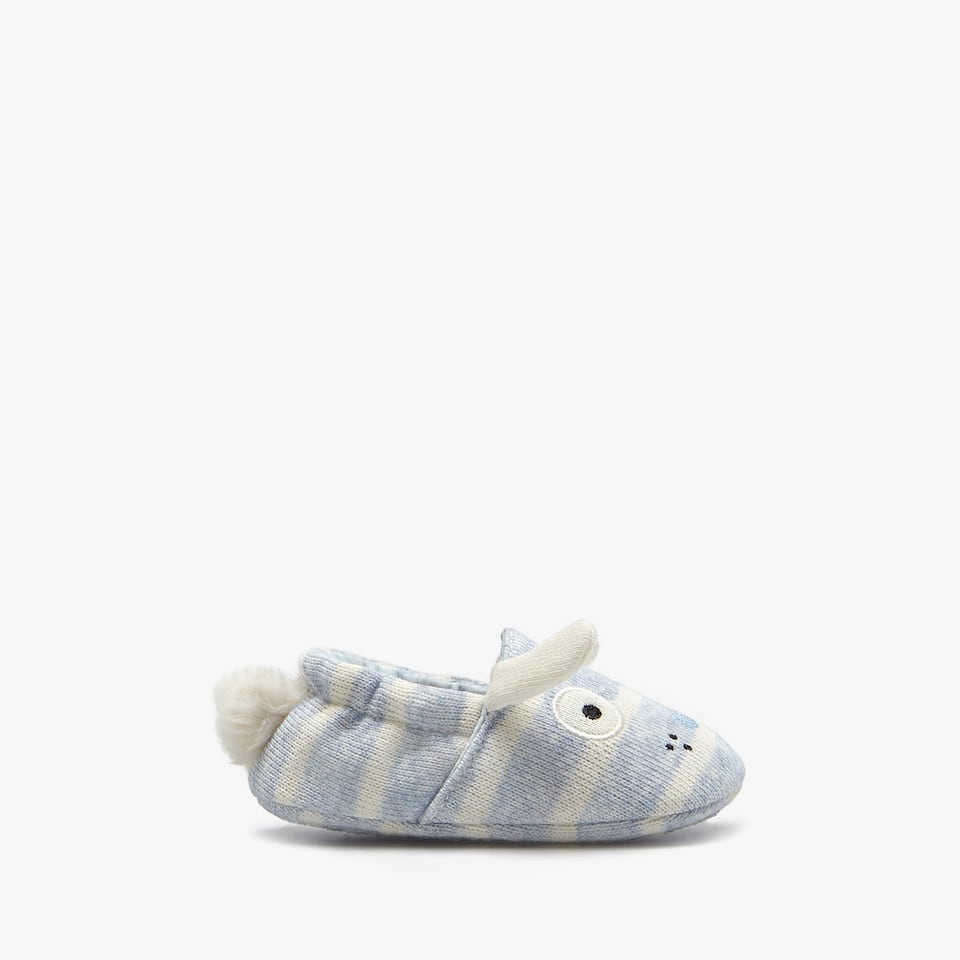 BOYS' ANIMAL SLIPPERS