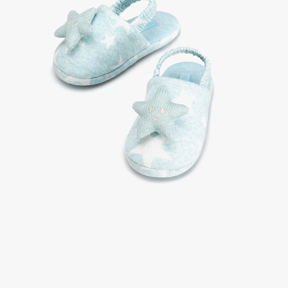 SLINGBACK SLIPPERS WITH STARS