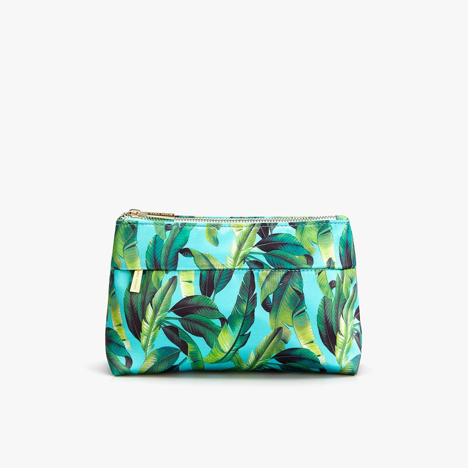 SATEEN TOILETRY BAG