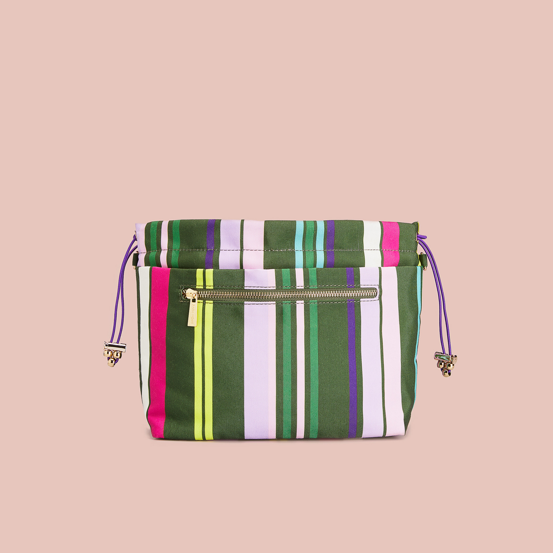 STRIPED PRINT BAG ORGANISER