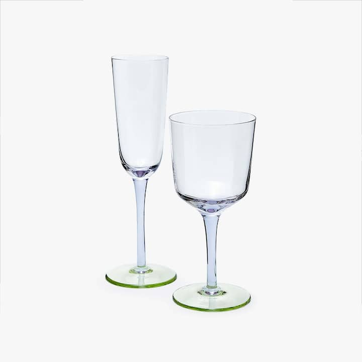Image Of The Product TWO TONE GLASSWARE