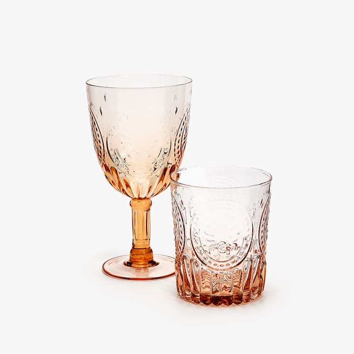Image Of The Product RAISED DESIGN GLASSWARE
