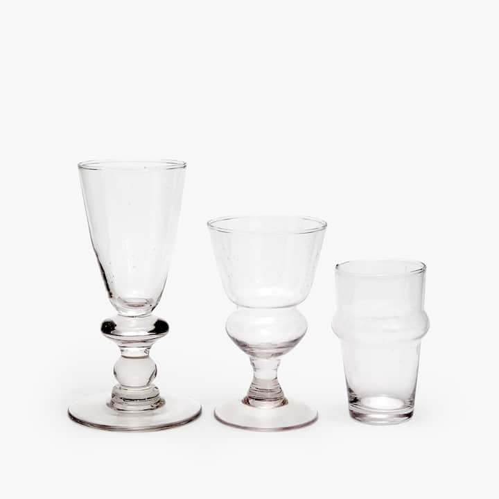 Image Of The Product TRANSPARENT GLASSWARE