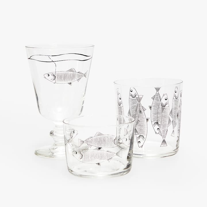 Image Of The Product FISH GLASSWARE