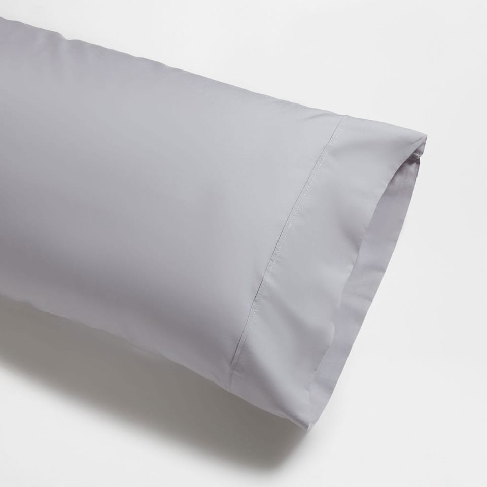 Basic percale 17.7 x 43.3 pillowcase