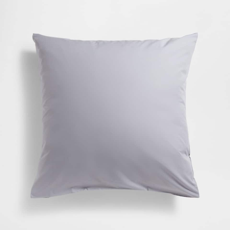 Taie d'oreiller percale basic (80 x 80), lot de 2.