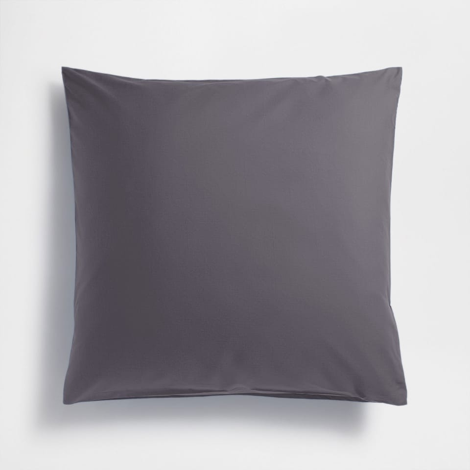 Basic percale 80 x 80 cm pillowcase (set of 2)