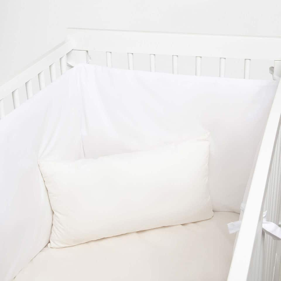 Kids Basic Percale Cot Bumper Cover