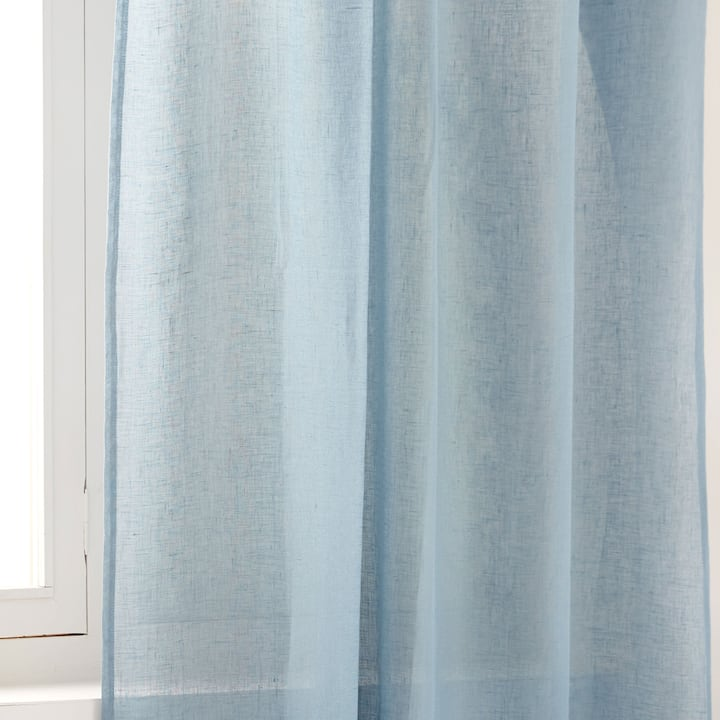Image Of The Product SHEER LINEN CURTAIN