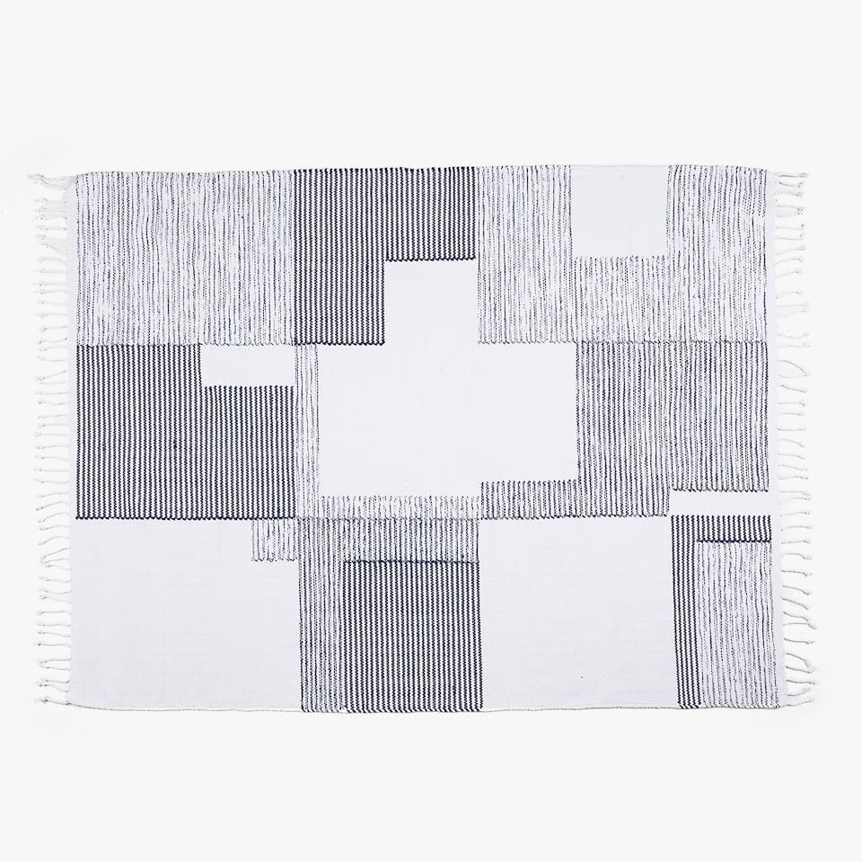 PATCHWORK COTTON RUG