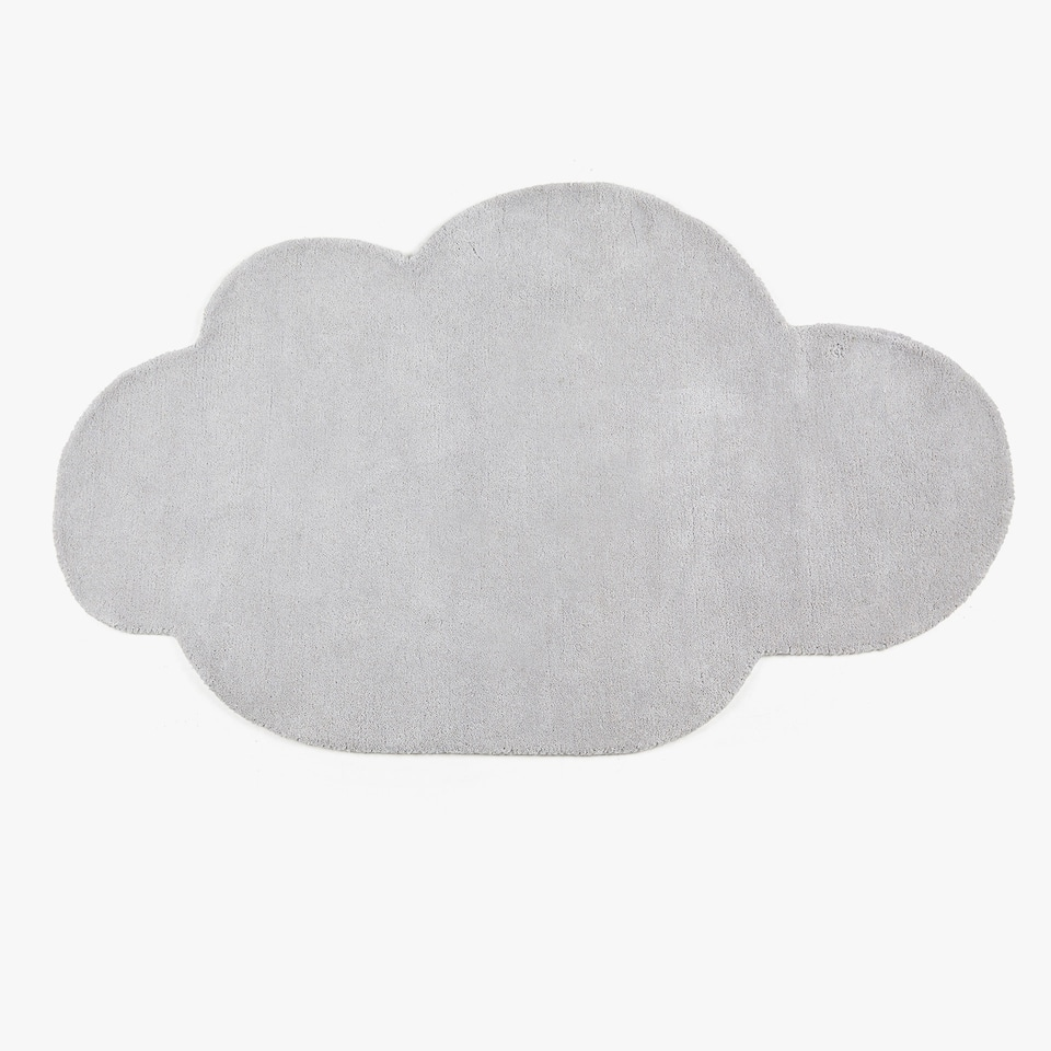 CLOUD-SHAPED COTTON RUG