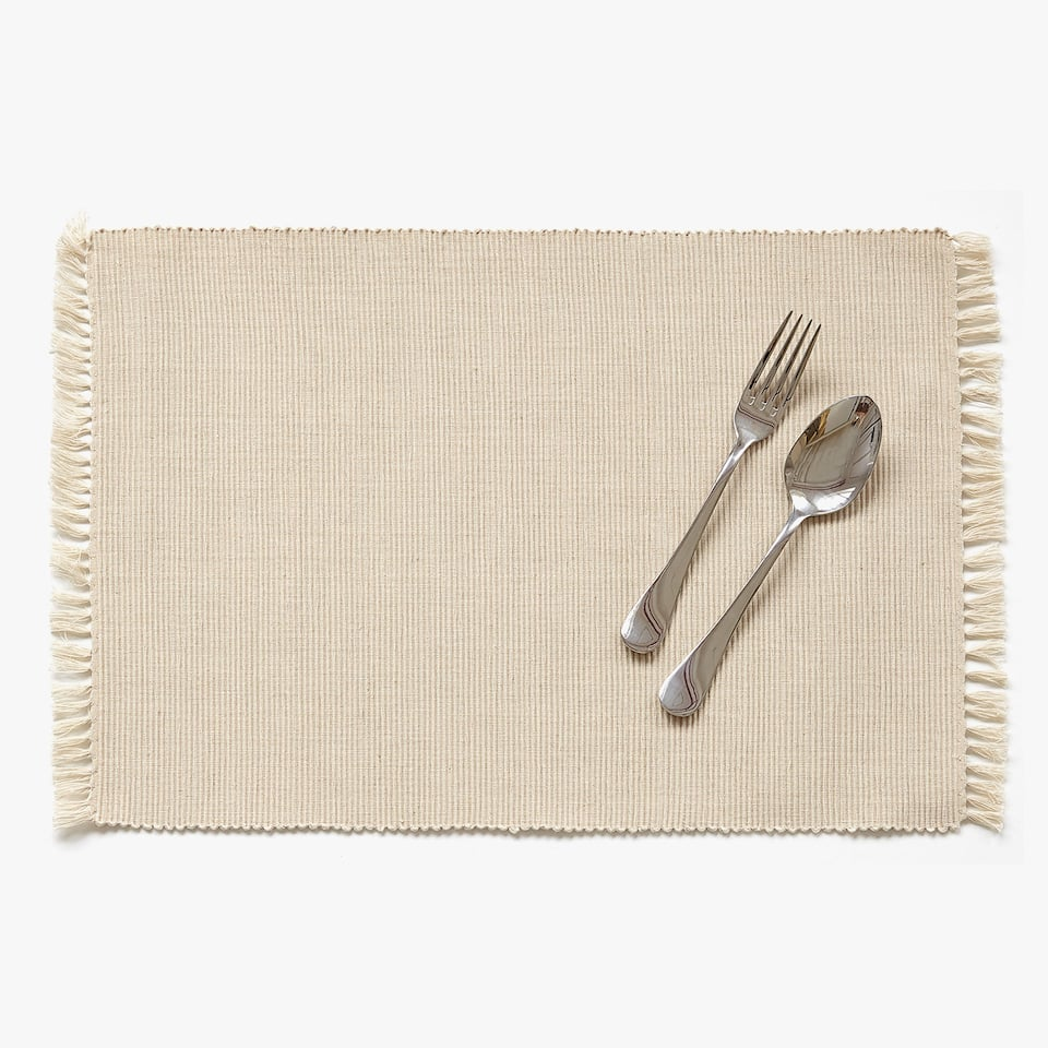 Basic Ribcord Placemat (Set van 2)