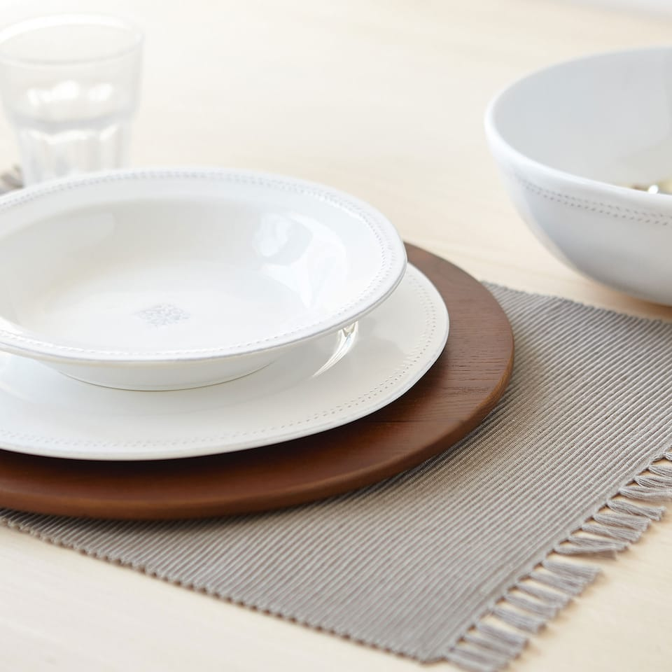 Set de table basic piqué (lot de 2)