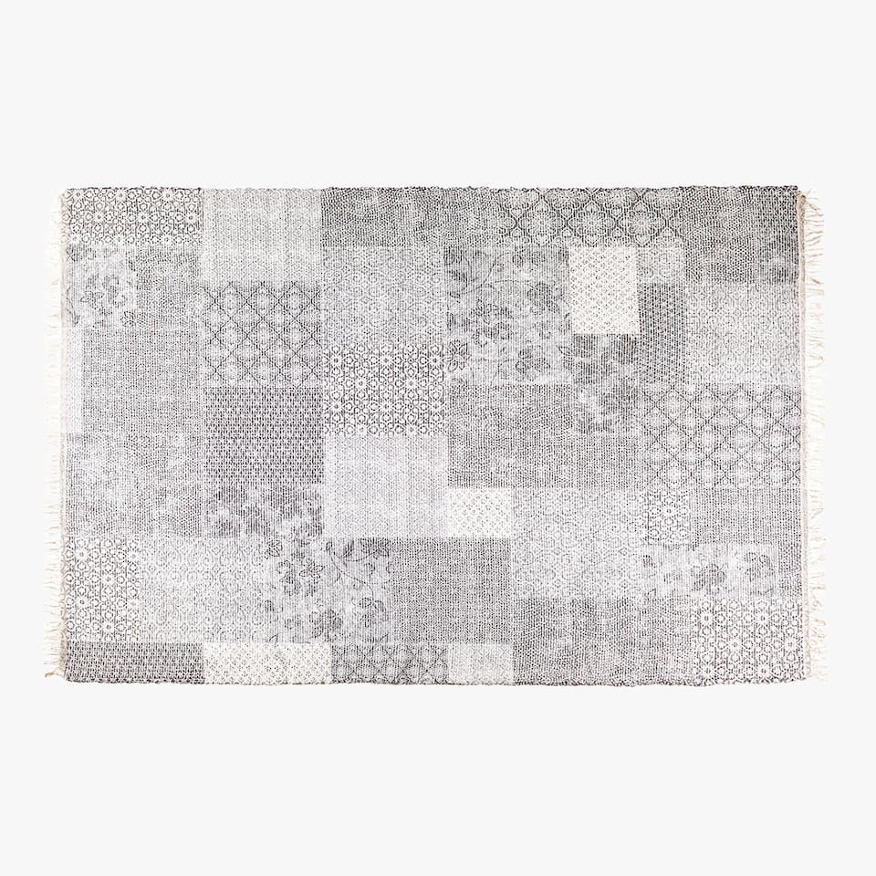 PATCHWORK PATTERN RUG