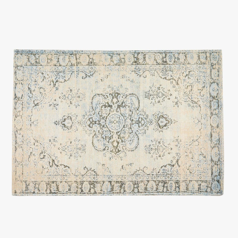 RUG WITH A PRINTED DESIGN