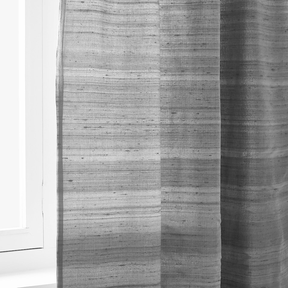 SILK SHANTUNG CURTAIN