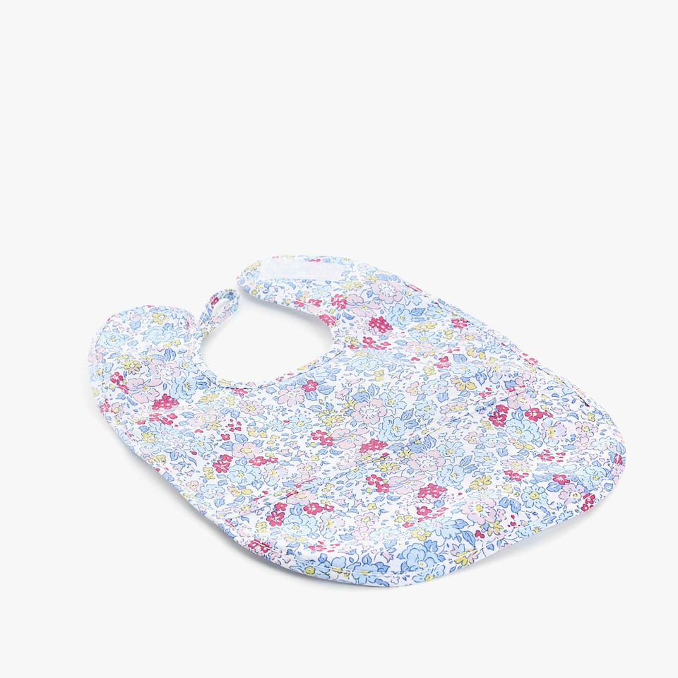 LITTLE FLOWER PRINT BIB