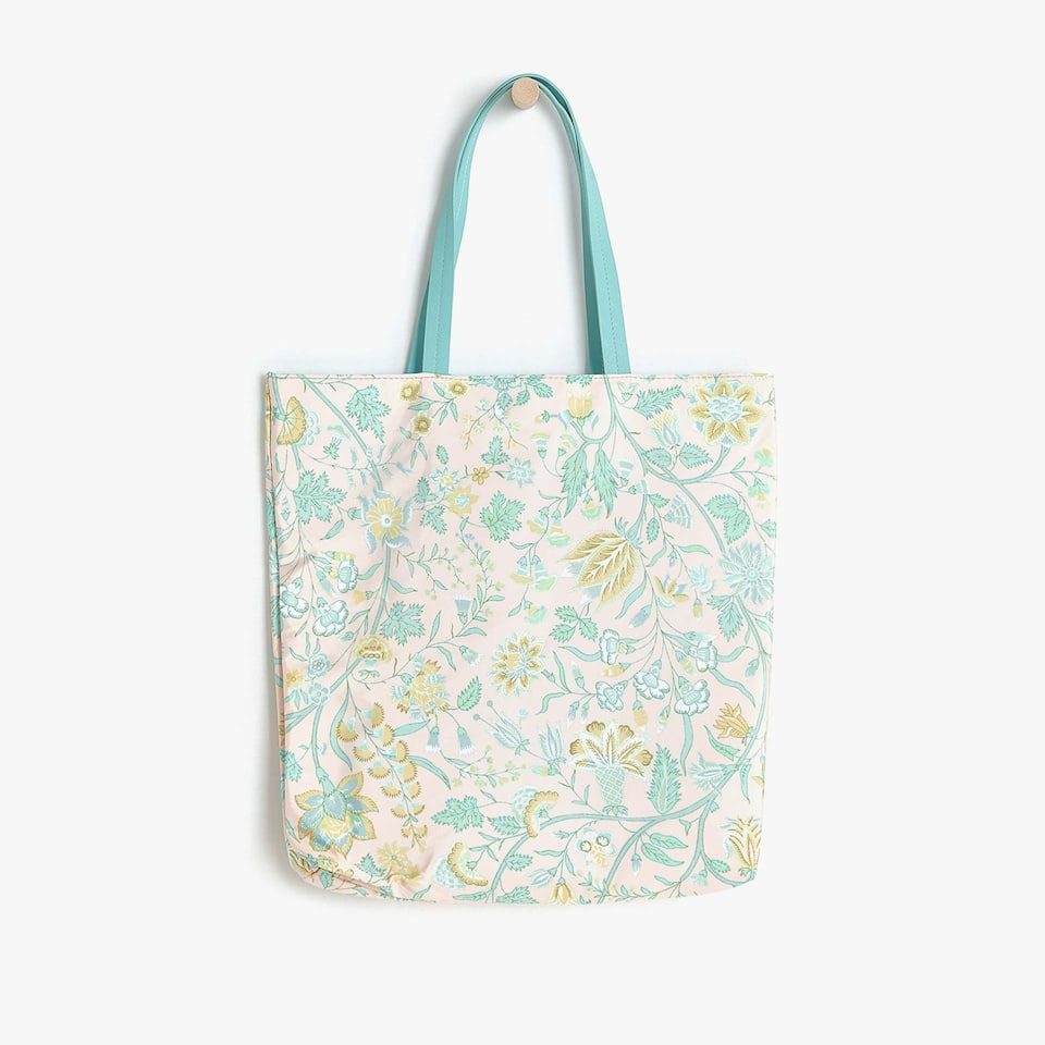 FLORAL PRINT COTTON BAG