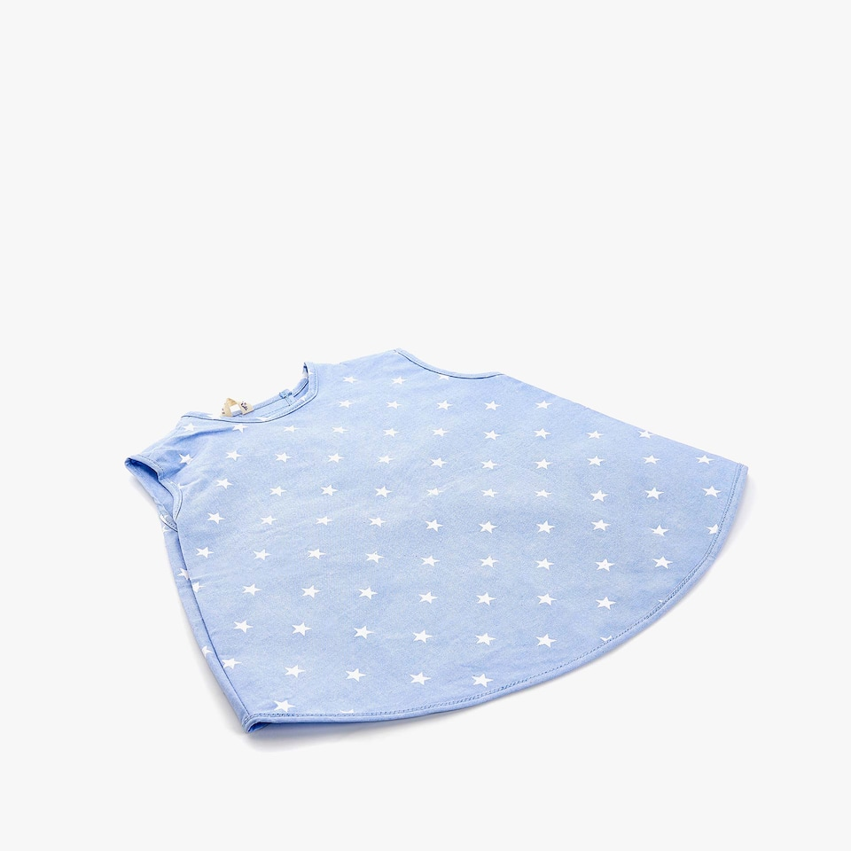 LONG STAR PRINT BIB