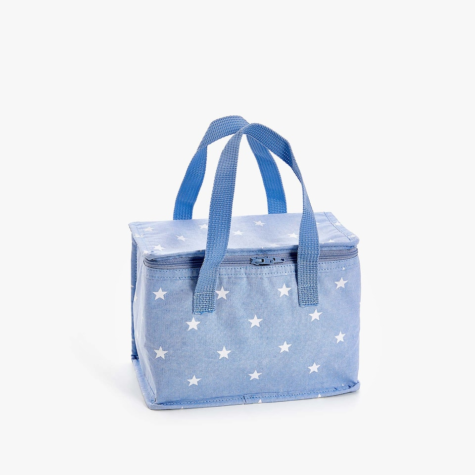 STAR PRINT COOLER BAG