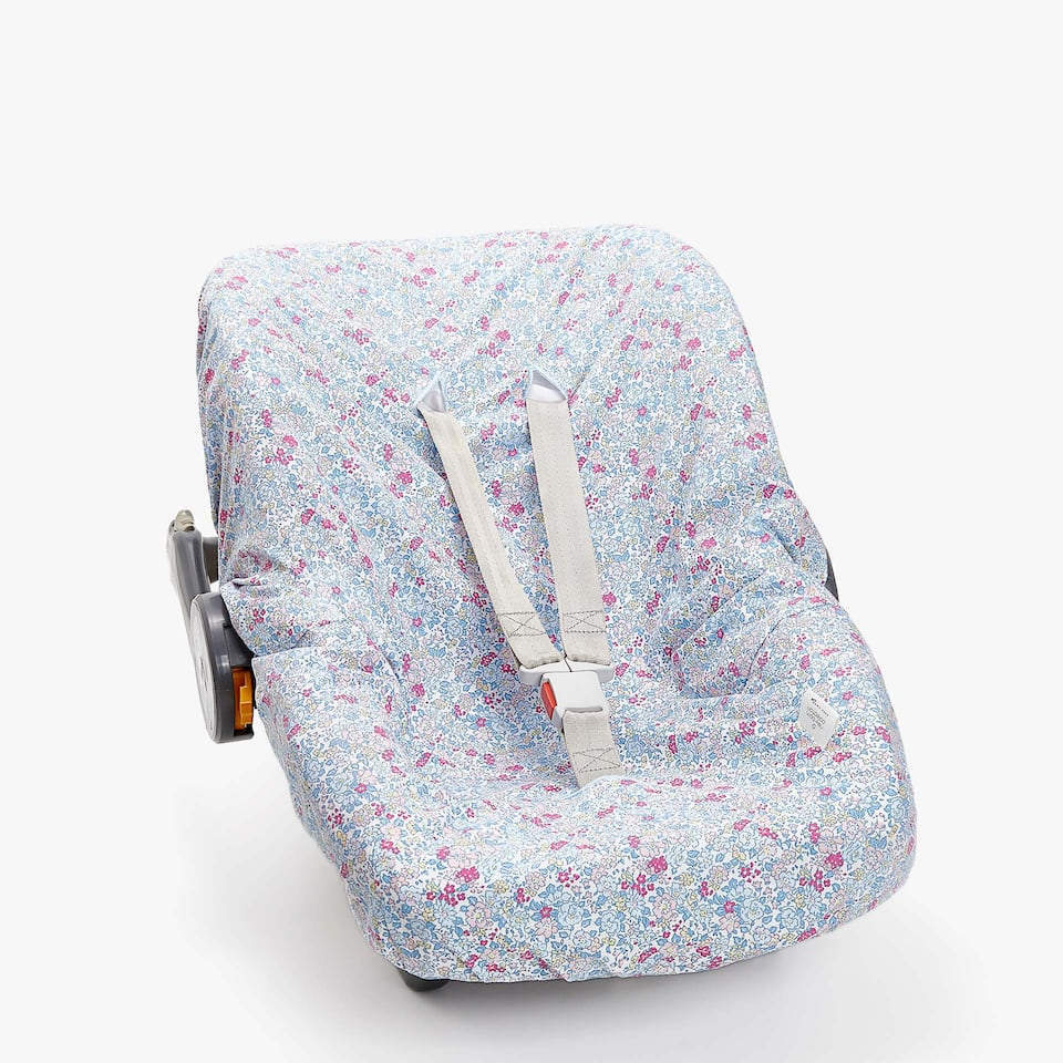 FLORAL PRINT BABY CARRIER COVER