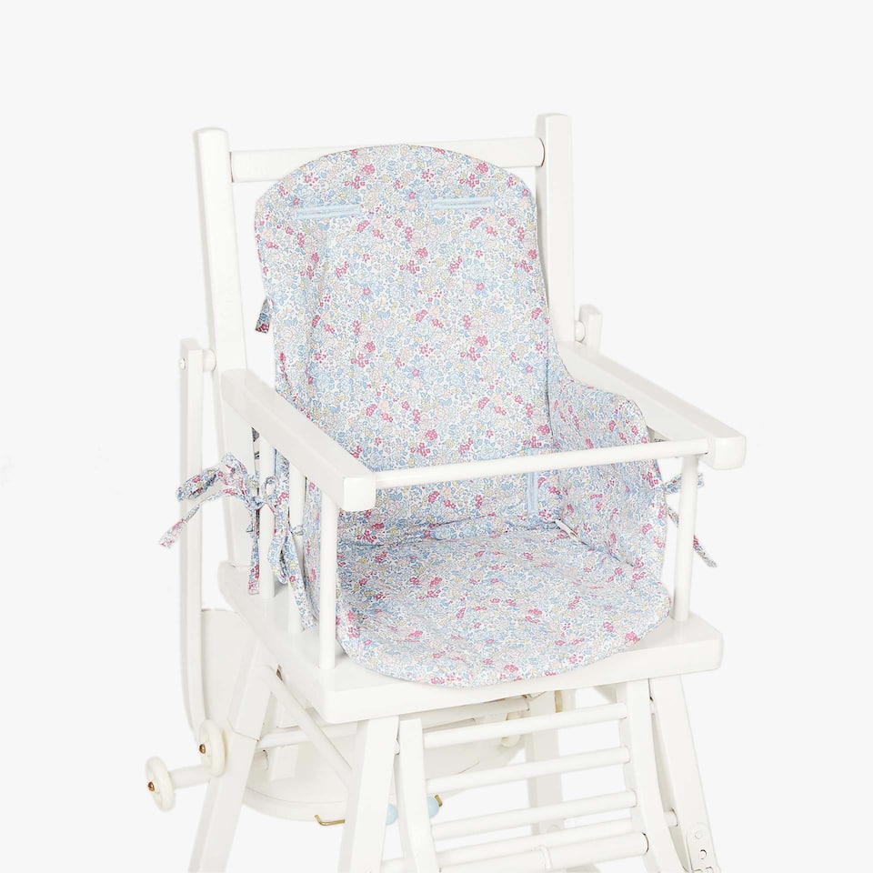 KIDS FLORAL PRINT HIGH CHAIR COVER