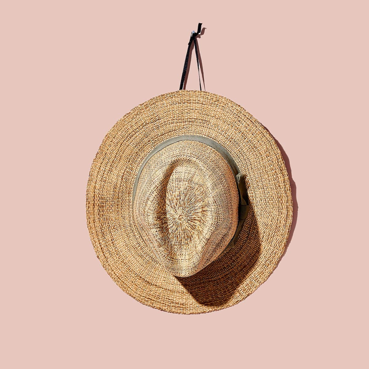 Image 1 Of The Product HAT WITH CONTRASTING BAND