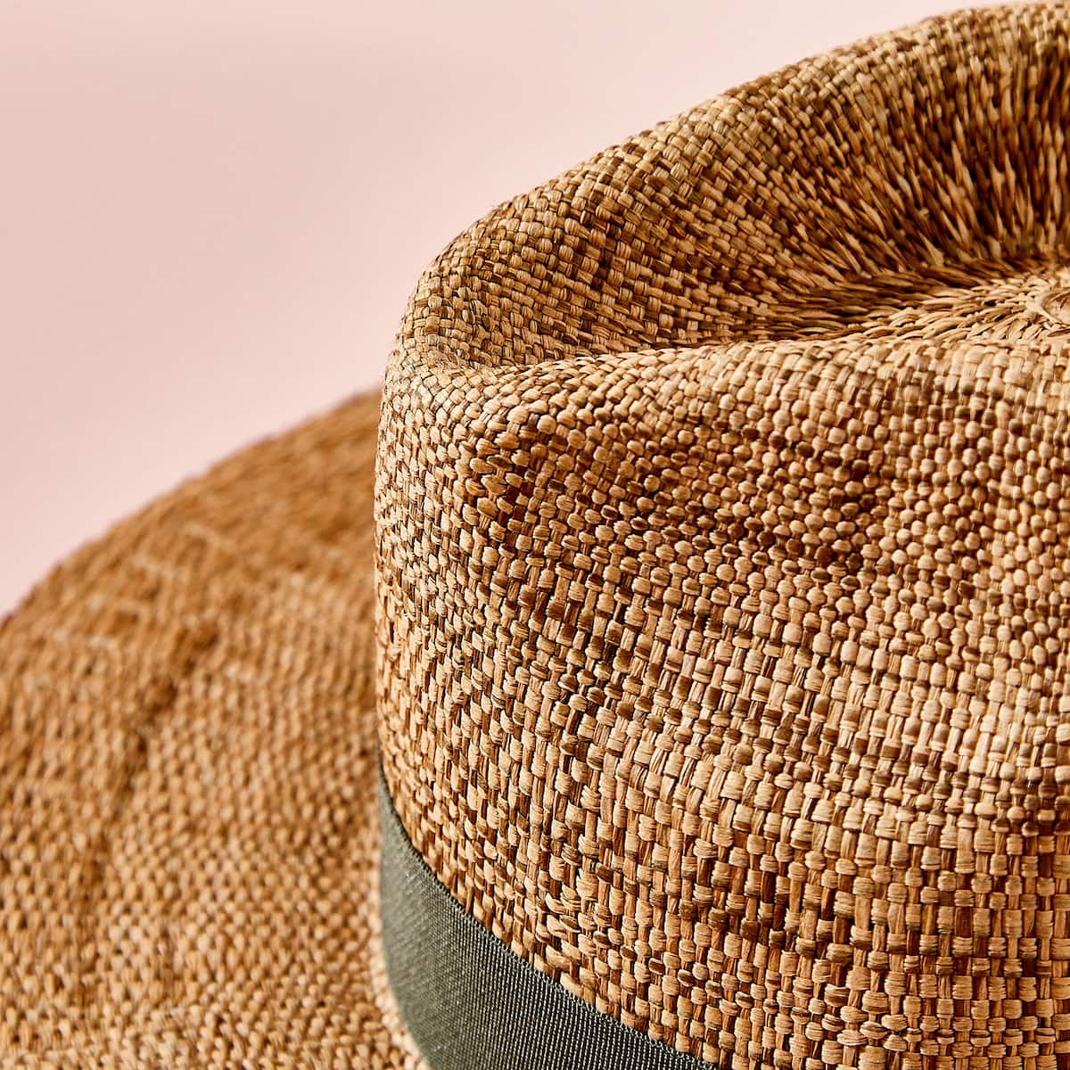 Image 3 Of The Product HAT WITH CONTRASTING BAND