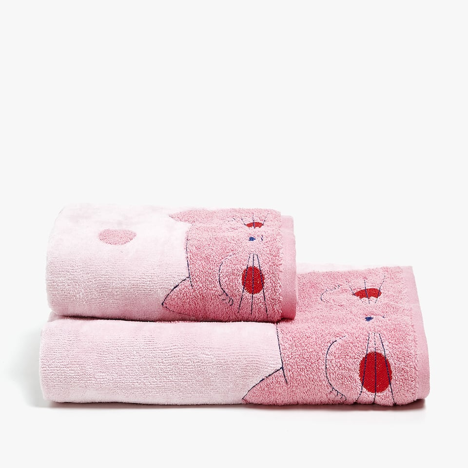 KITTEN COTTON TOWEL