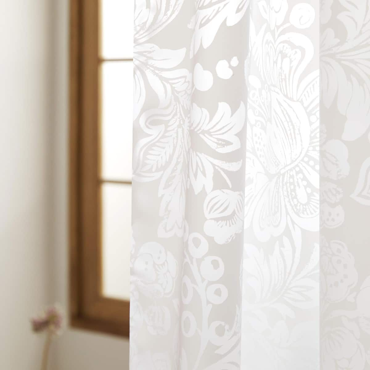 Image 4 Of The Product FLORAL SHOWER CURTAIN