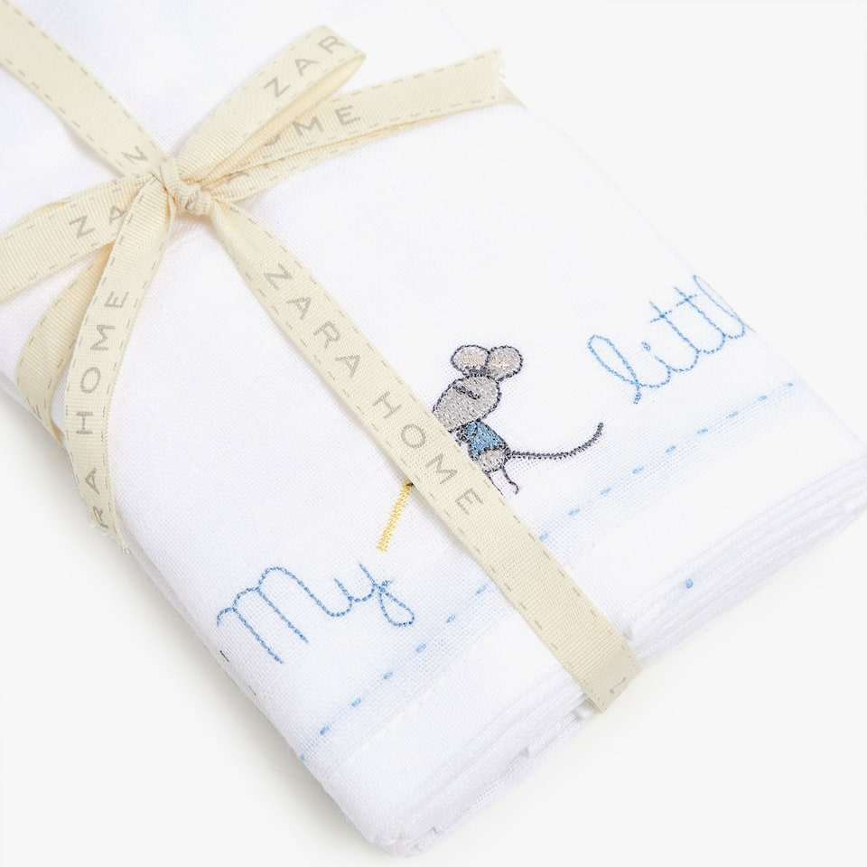 EMBROIDERED BABY CLOTHS (SET OF 2)