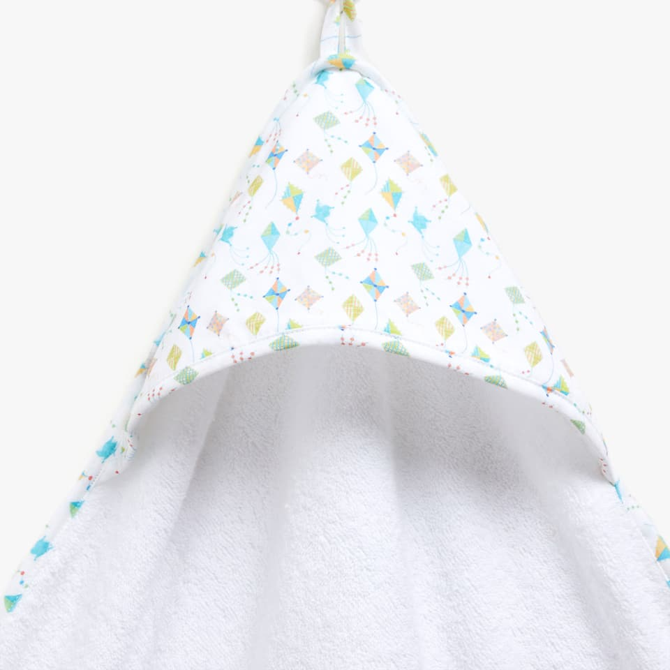PRINTED FABRIC BABY TOWEL