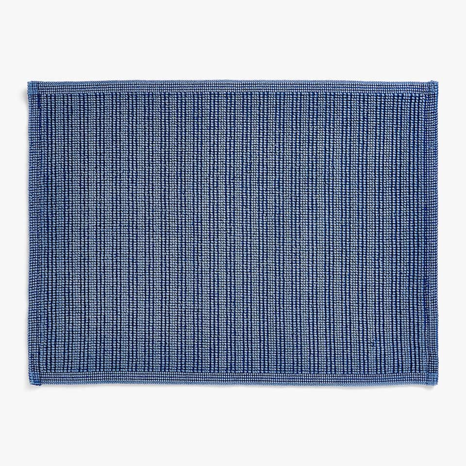 KNOT WEAVE COTTON BATH MAT