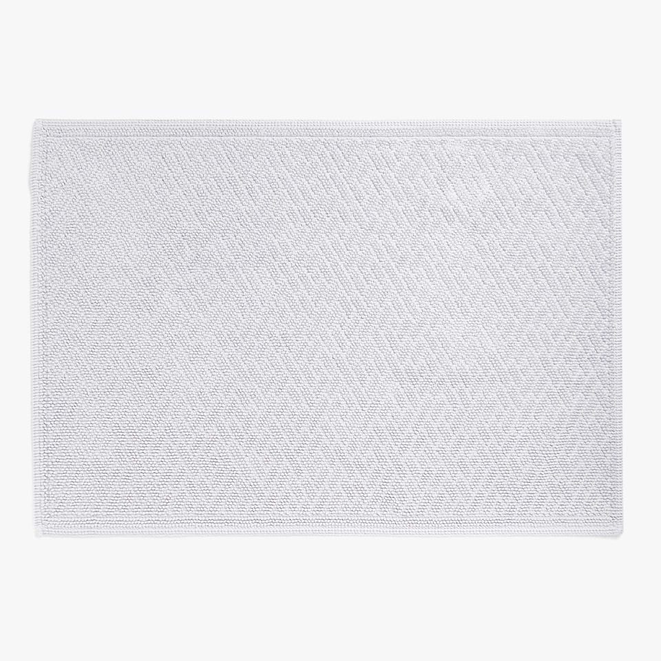 REVERSIBLE GEOMETRIC DESIGN BATH MAT