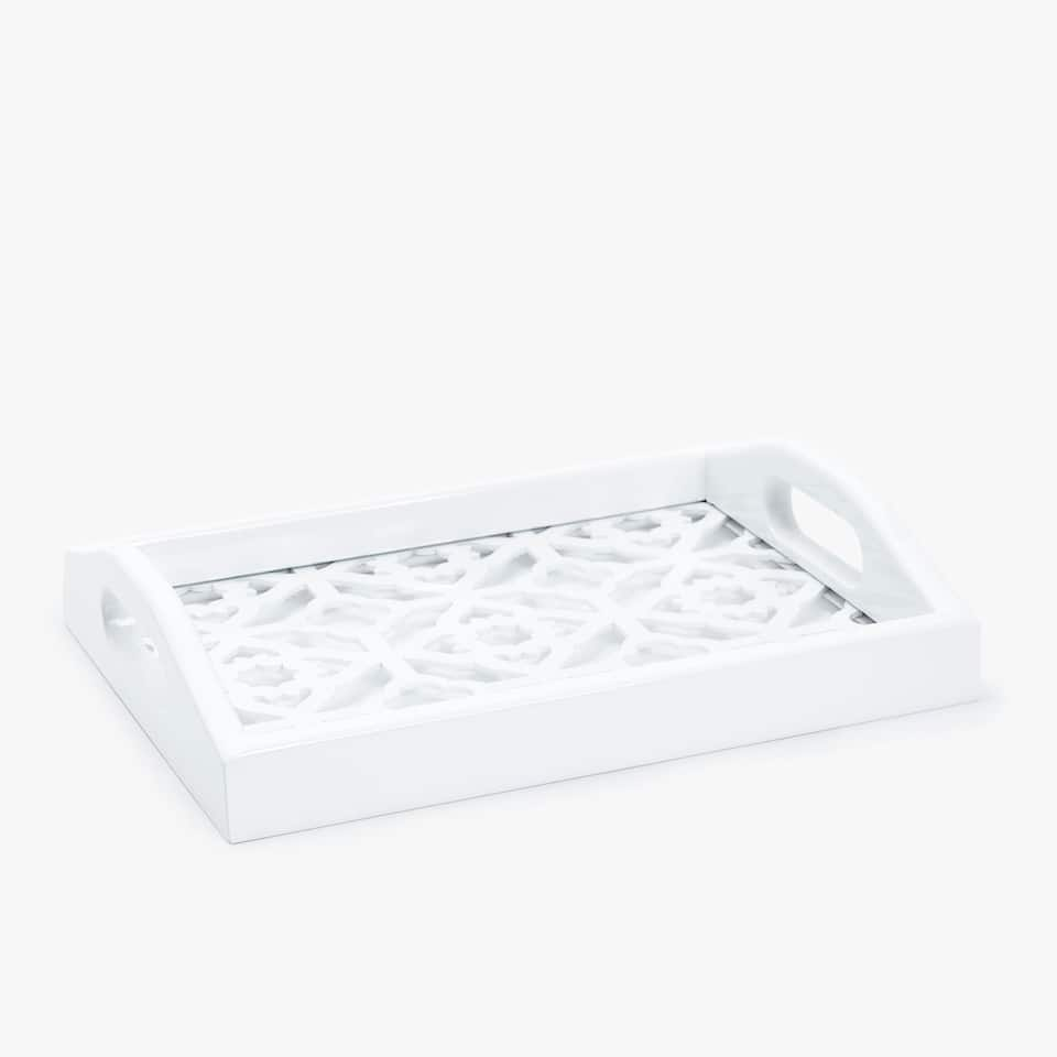 RECTANGULAR OPENWORK TRAY