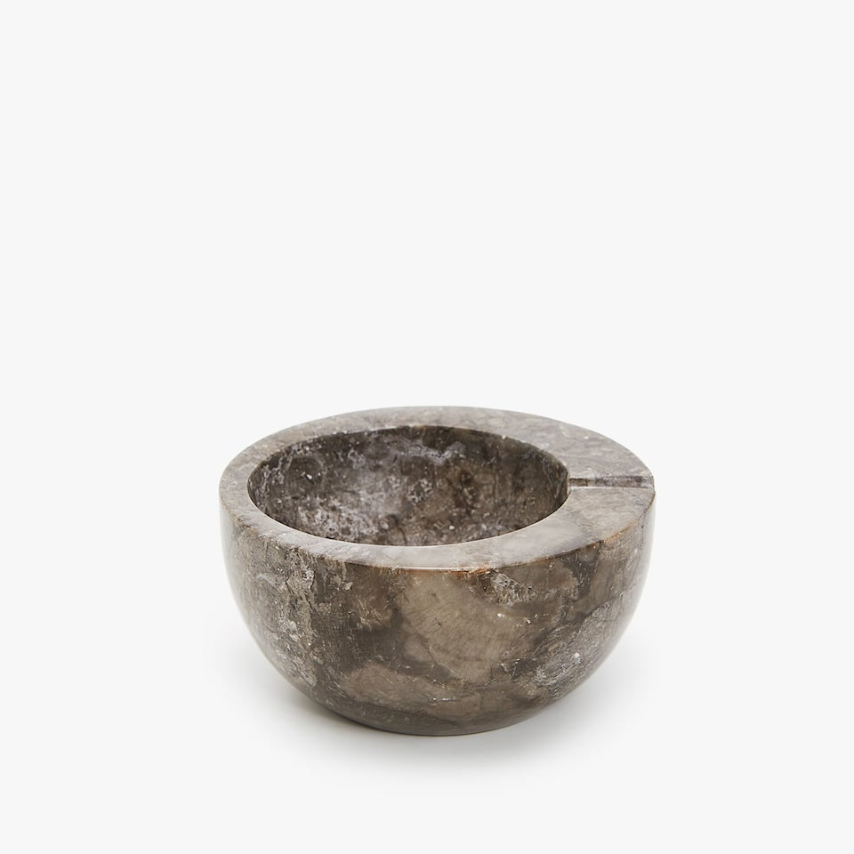 MEDIUM MARBLE ASHTRAY
