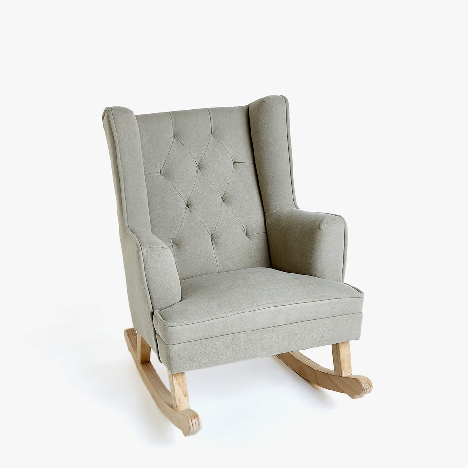 KIDS' HIGH-BACK ROCKING CHAIR