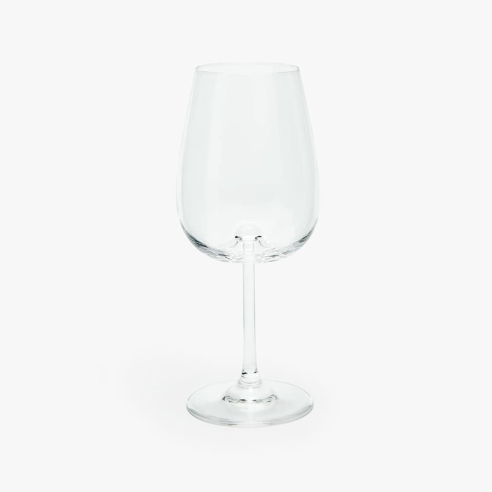 SPHERE SHAPED WINE GLASS