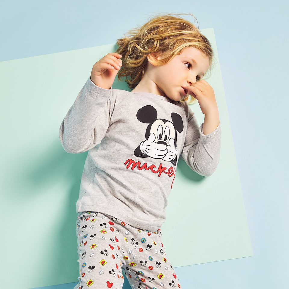 PIJAMA ESTAMPADO MICKEY
