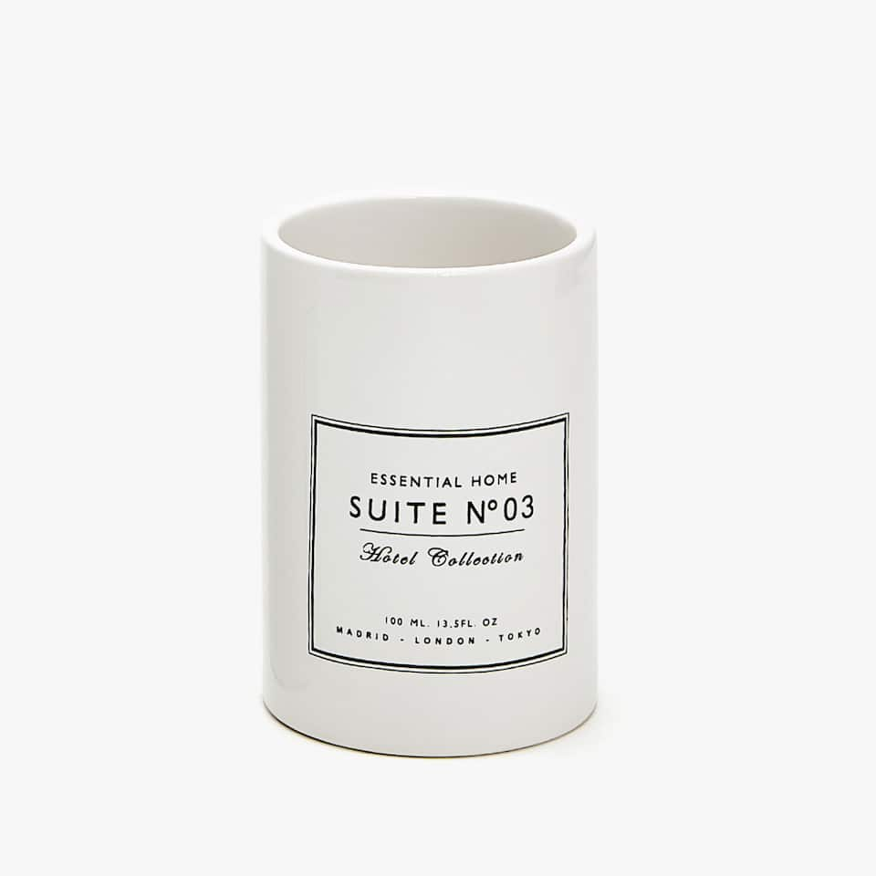 CERAMIC MESSAGE TUMBLER