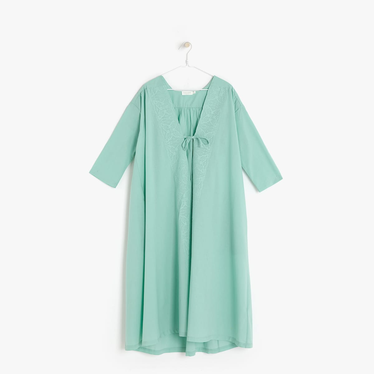 EMBROIDERED DRESSING GOWN - VIEW ALL - WOMEN\'S LOUNGEWEAR ...