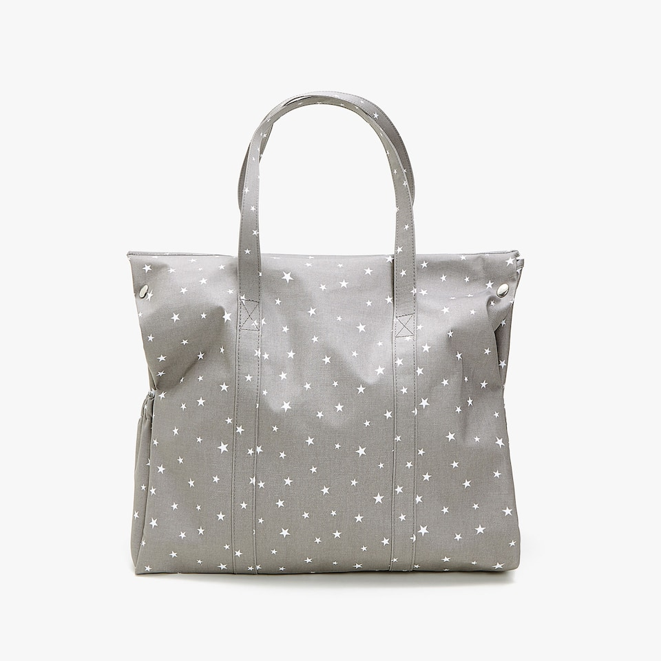 WATERPROOF LITTLE STARS PRINT MATERNITY BAG