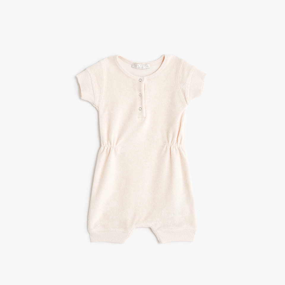 TERRY ROMPER SUIT