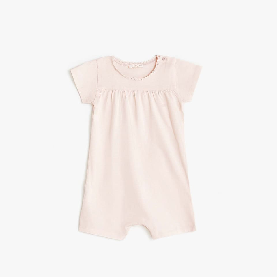 WASHED EFFECT ROMPER SUIT