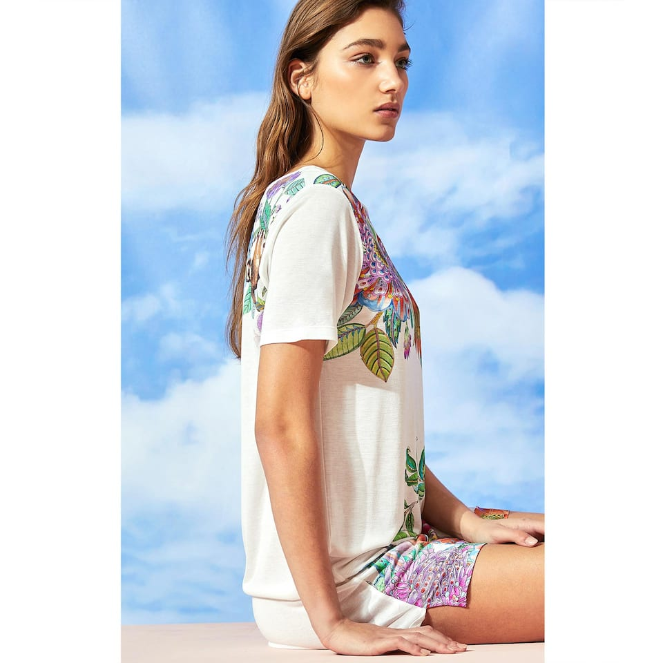 VESTIT ESTAMPAT TROPICAL