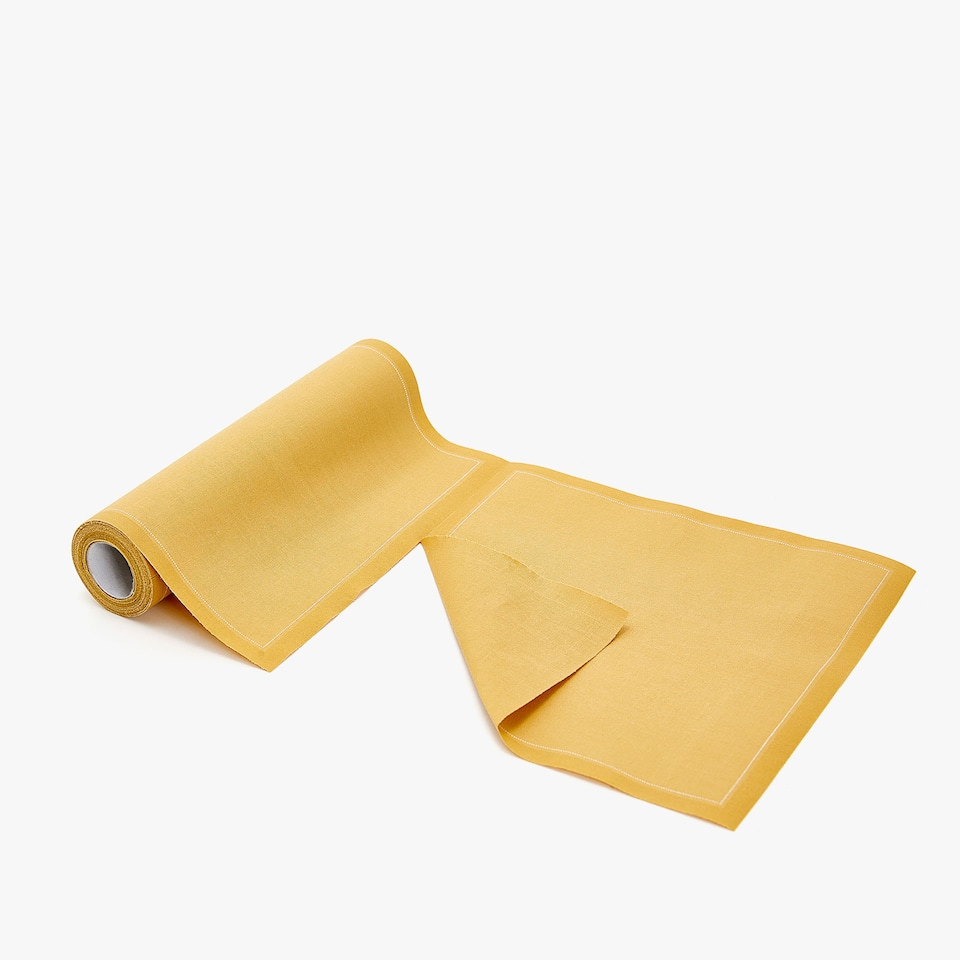 Guardanapos pré-cortados reutilizáveis (rolo de 20)