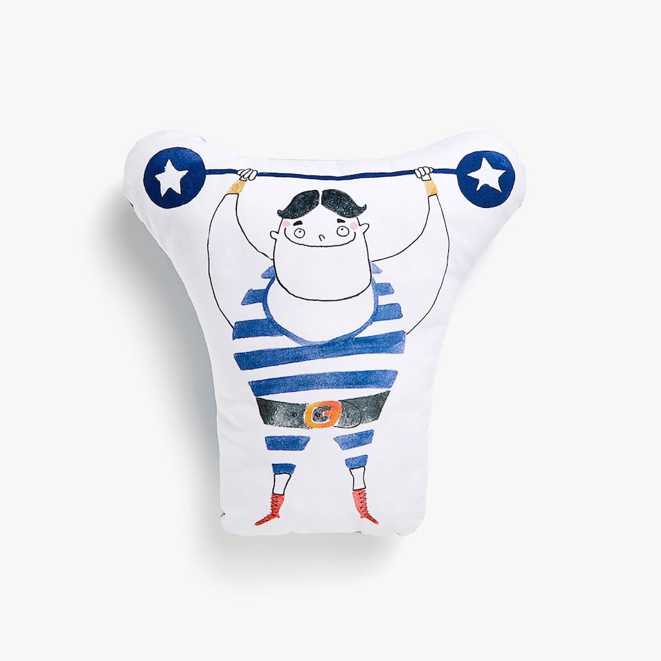 Kids strongman cushion