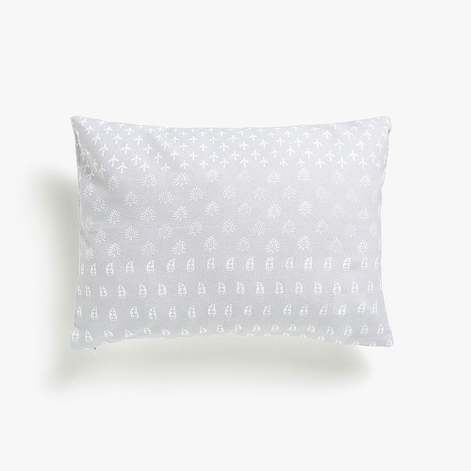Kids printed cotton cushion cover
